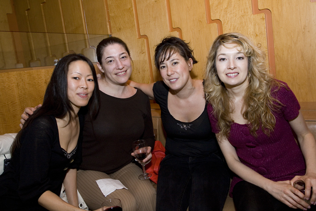 Left to Right: Carol Huang, Carin Mirowitz, Judy Dutton, Kiri Blakeley
