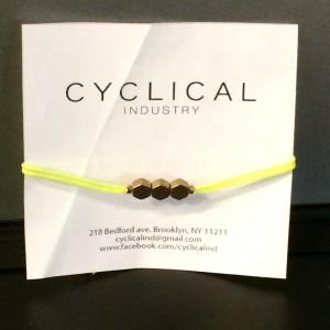 Cyclical Industry Bracelet
