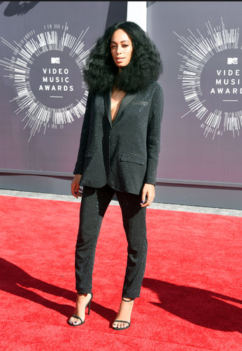 Solange in H&M, she never missed a beat when it comes to making style choices.